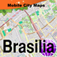 Map of Brasilia