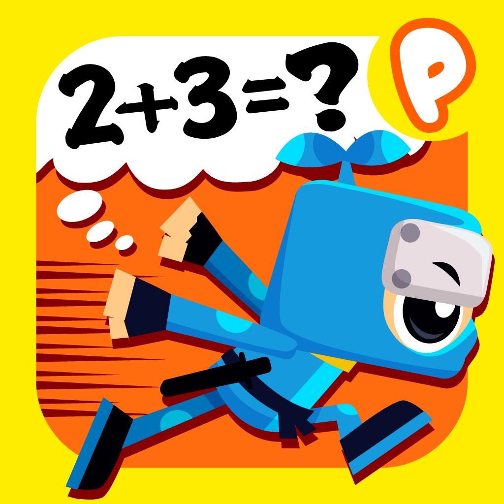 算数忍者〜たし算ひき算 子供向け無料学習アプリ